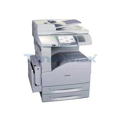Lexmark X-850e MFP